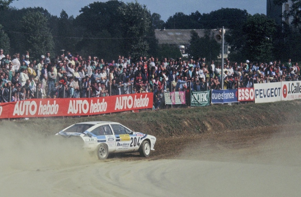 Didier-Caradec - Alfa-Romeo-GTV6 -2- 1987- Rallycross-Lohéac- Photo-Thierry-Le-Bras
