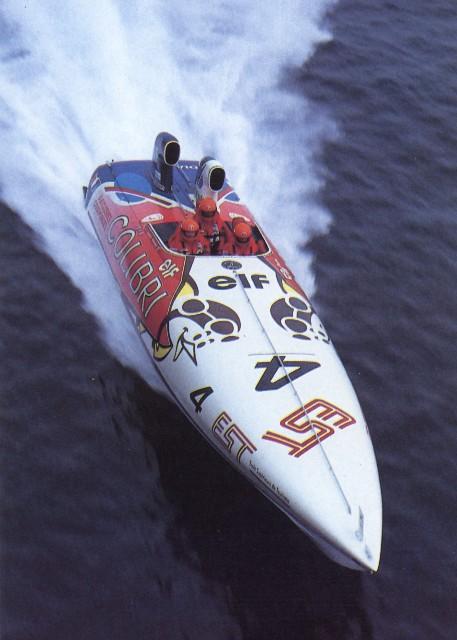 Didier-Pironi -Colibri - 1987