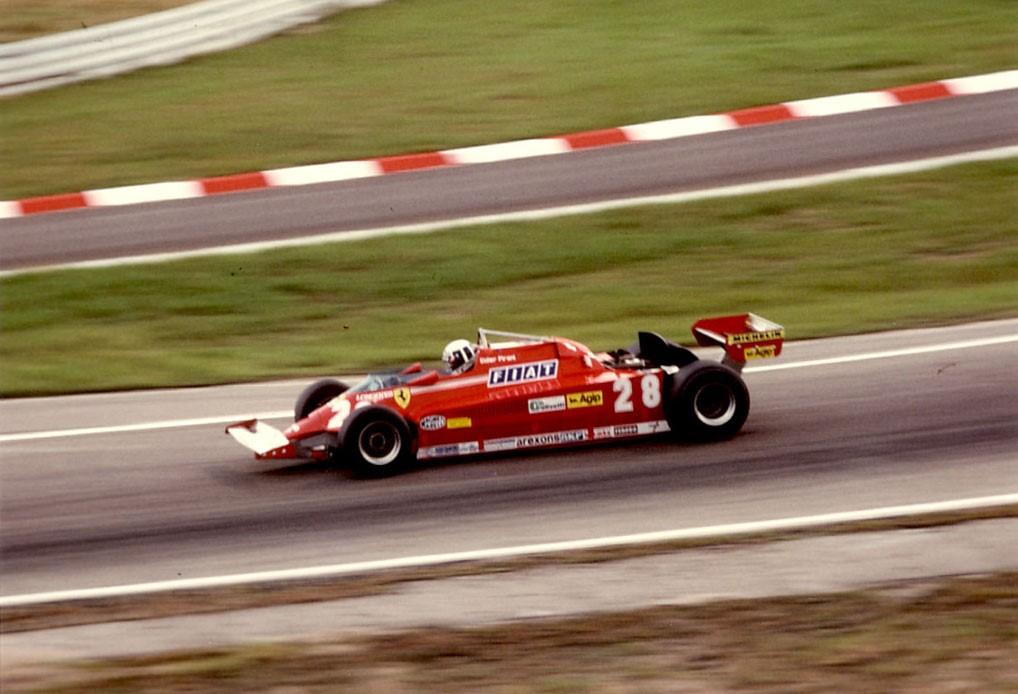 Didier-Pironi - Ferrari-126-C - (1) - 1981 - Hockenheim - Photo-Thierry-Le-Bras