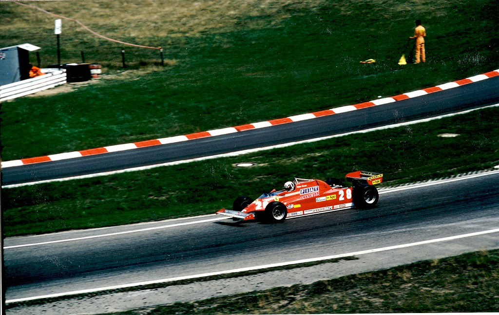 Didier-Pironi- Ferrari-126-C-V6-Turbo - 1981 - GP-d-Allemagne -Photo-Thierry-Le-Bras