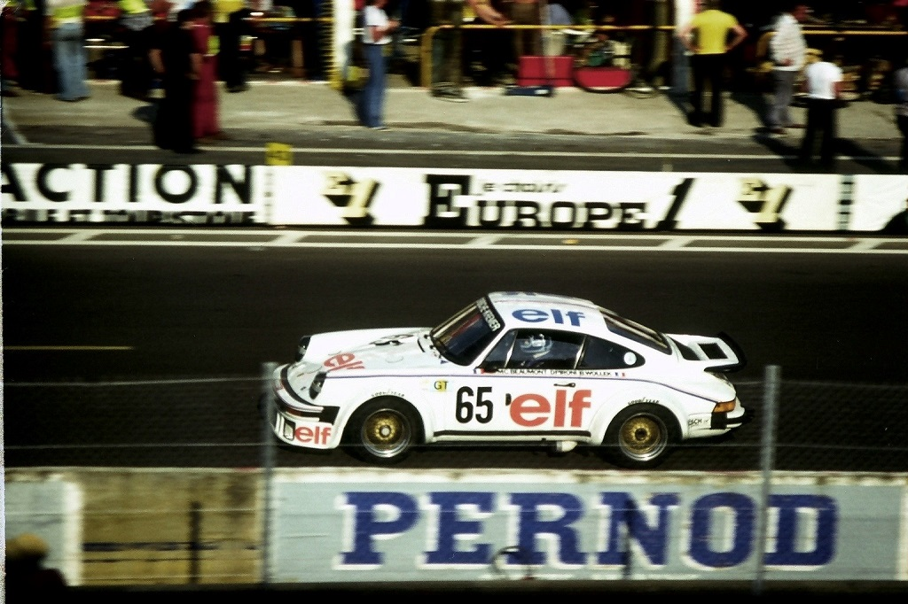Didier-Pironi - Porsche-934-Kremer - 1976 -Le-Mans - Photo-Thierry-Le-Bras