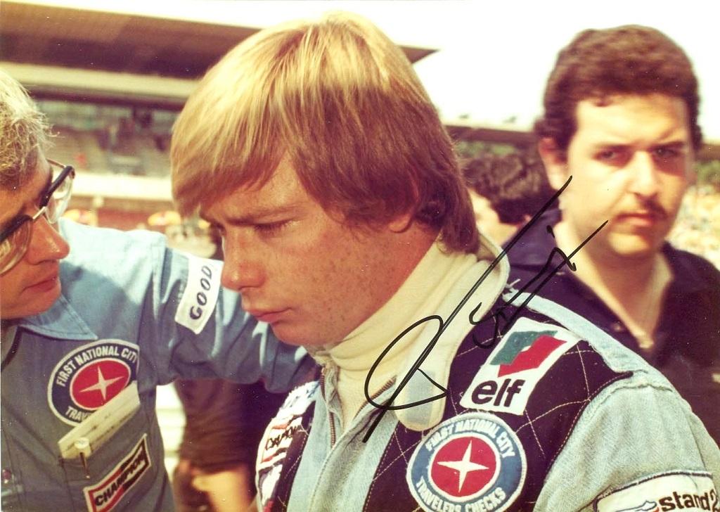 Didier-Pironi- pilote-Tyrrell - 2