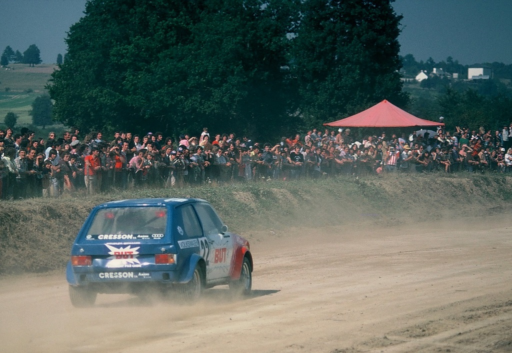 Dunac - VW-Golf-GTI - 1978 - Rallycross-Lohéac - Photo - Thierry-Le-Bras