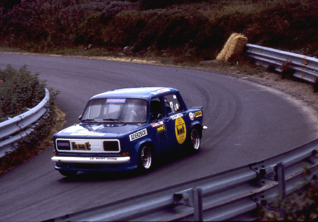 Dzierzbicki- Simca-Rallye-3-groupe-A - - 1983 - CC-Mont-Dore- Photo-Thierry-Le-Bras