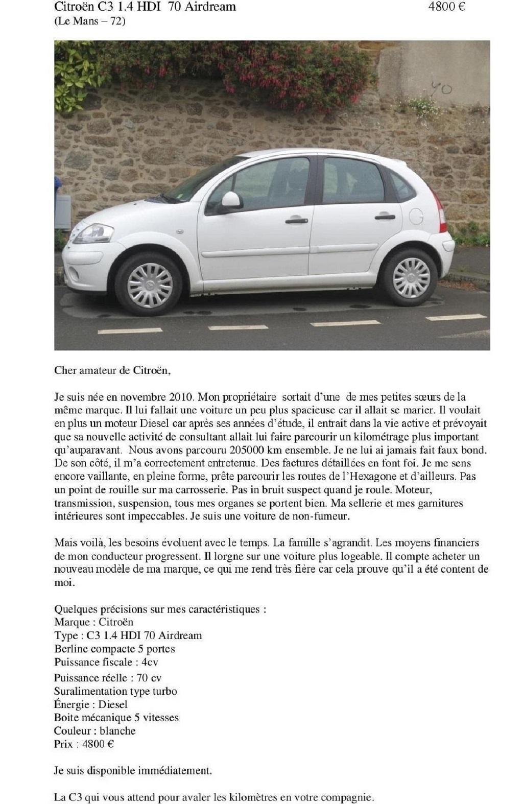 Exemple-d-annonce-originale- de-Citroën-C3-d-occasion