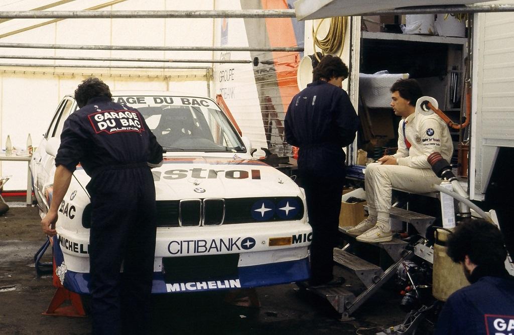 Fabien-Giroix-Patrick-Gonin - BMW-M3- 1989- 2-Heures-du-Mans- Photo-Thierry-Le-Bras