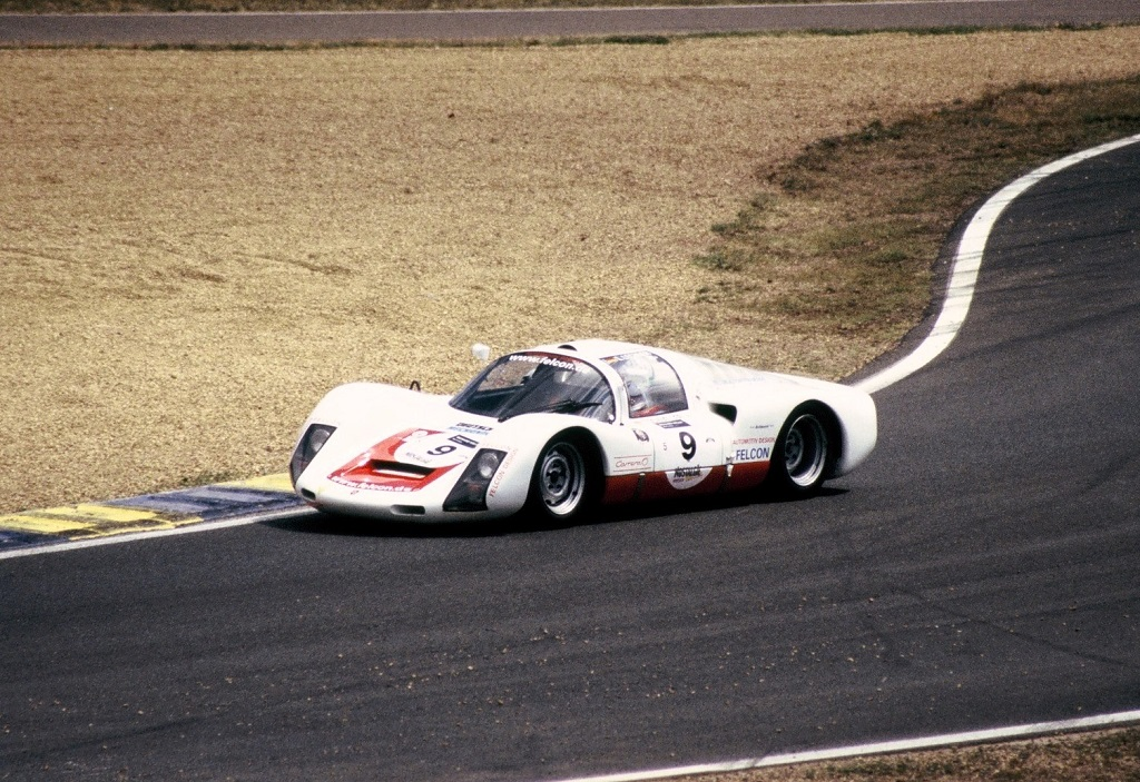 Fellner-Lechler - Porsche-906 - 2004 - Mans-Classic - Photo-Thierry-Le-Bras