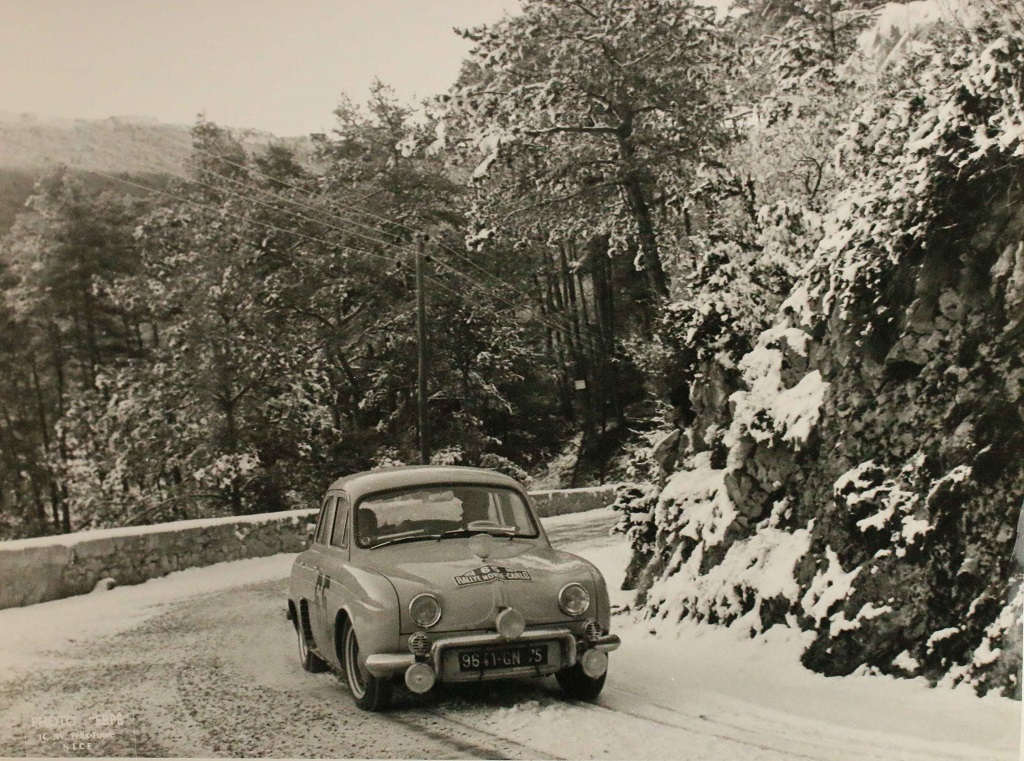 Feret-Monraisse - Renault-Dauphine-Spéciale - 1958 - Rallye-Monte-Carlo