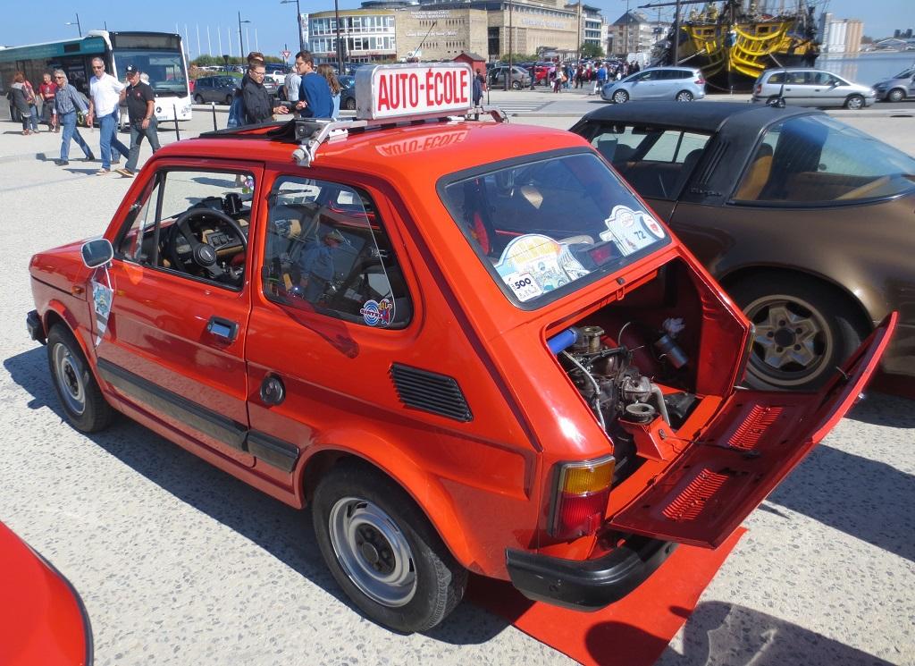 Fiat-126-Auto-école- 2015 - Saint-Malo - Photo-Thierry-Le-Bras