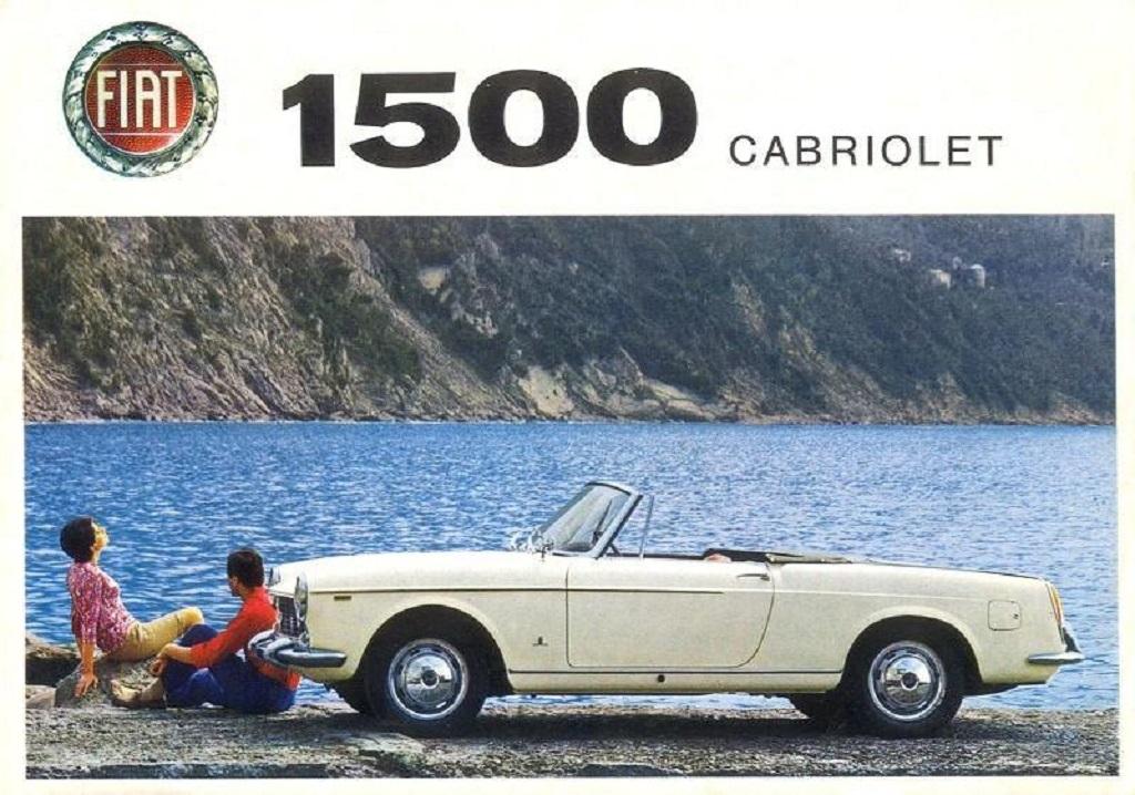 Fiat-1500-Cabriolet - Prospectus - 1965
