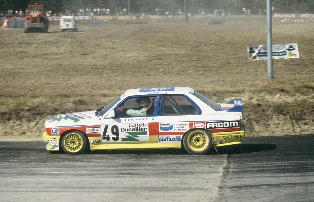 Flament-BMW-M3- 1990- Lohéac- Photo-Thierry-Le-Bras