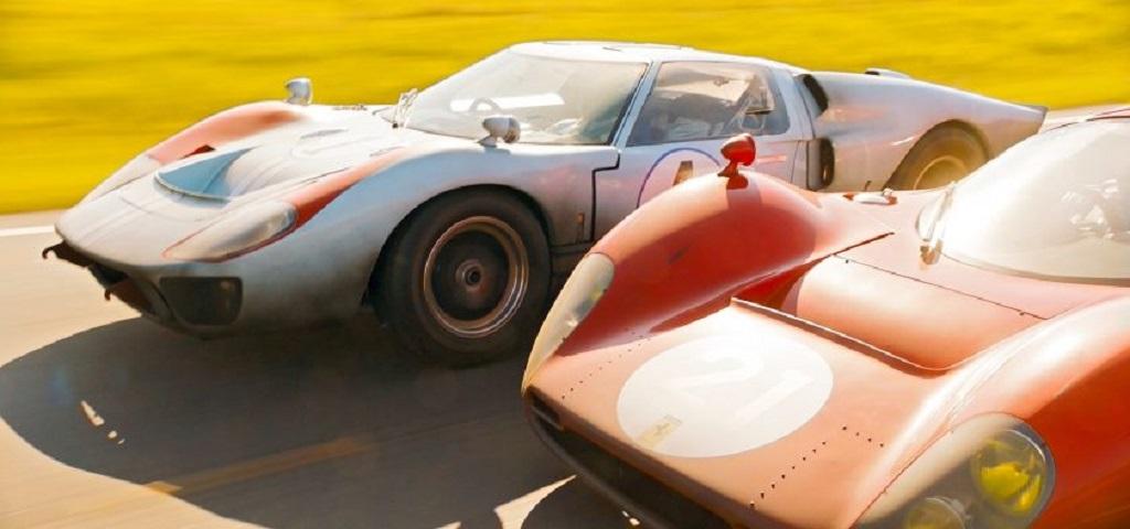 Ford-GT-40-MKII-v-Ferrari-P3- Duel-sur-la-piste- Source-Images-promotionnelles-du-film