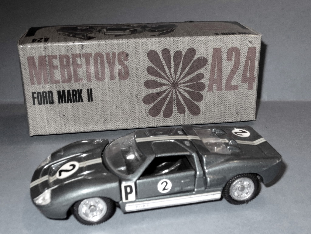 Ford-GT40-MKII - Mebetoys-Miniature - Photo- Thierry-Le-Bras