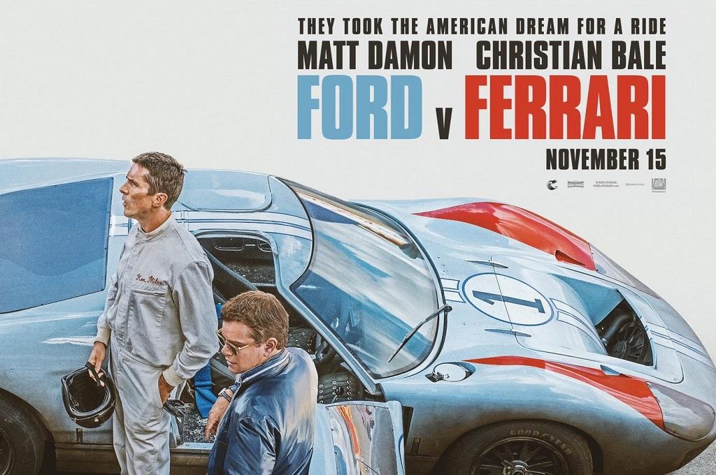 Ford-v-Ferrari - Affiche
