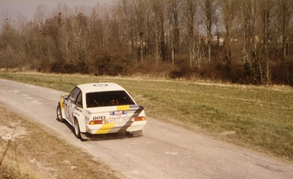 Fréquelin-Gilbert - Opel-Manta-400 - 1985 - Rallye-Touraine - Photo-Thierry-Le-Bras