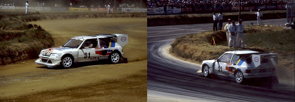 Fréquelin - Peugeot-205-T16-Evo2 - 1988 -Rallycross-Lohéac - Photo-Thierry-Le-Bras