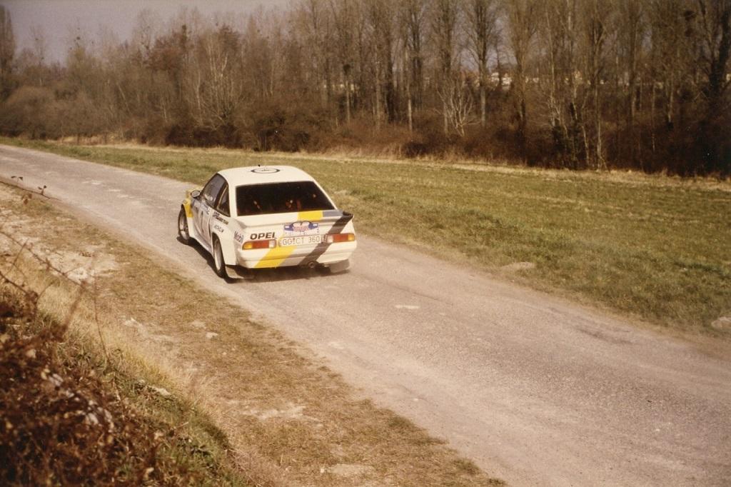 Fréquelin-Tilber - Opel-Manta-400 - 1985 - Critérium-de-Touraine- Photo-Thierry-Le-Bras