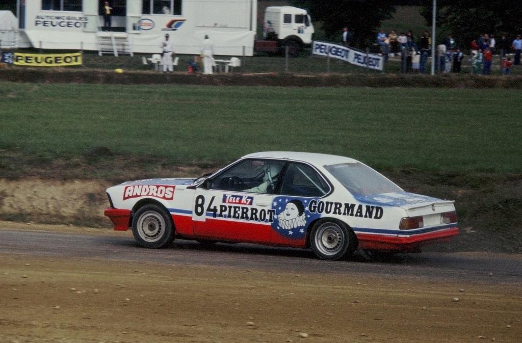 François-Chauche -BMW-635- 1987- Rallycross-Lohéac- Photo-Thierry-Le-Bras