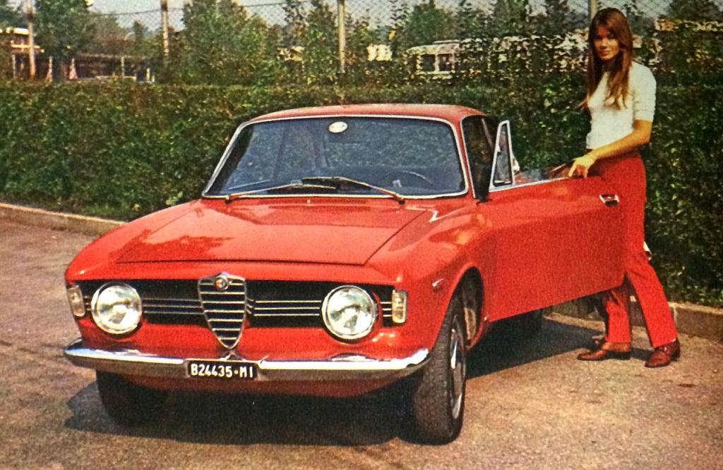 Françoise-Hardy - Alfa-Romeo - 1966 - Monza