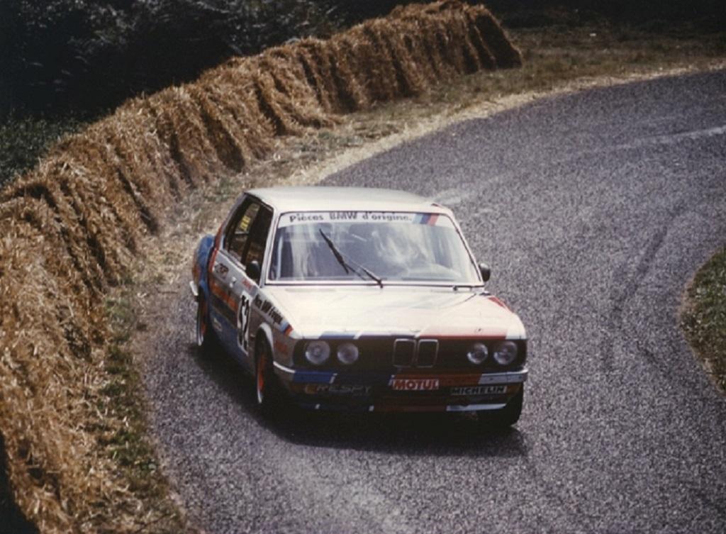Francis-Dosières - BMW-528 - groupe-A - 1984 - St-Gouëno - Photo-Thierry-Le-Bras