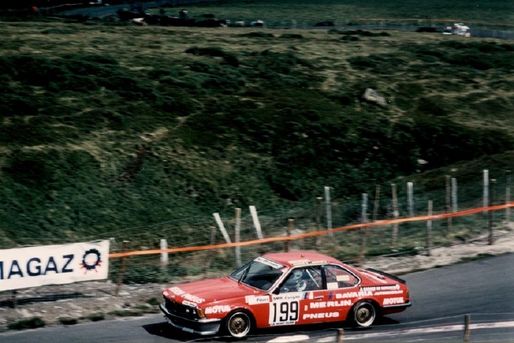 Francis-Dosières- BMW-635-CSI - 1984 - Course-de-côte-du-Mont-Dore - Photo-Thierry-Le-Bras