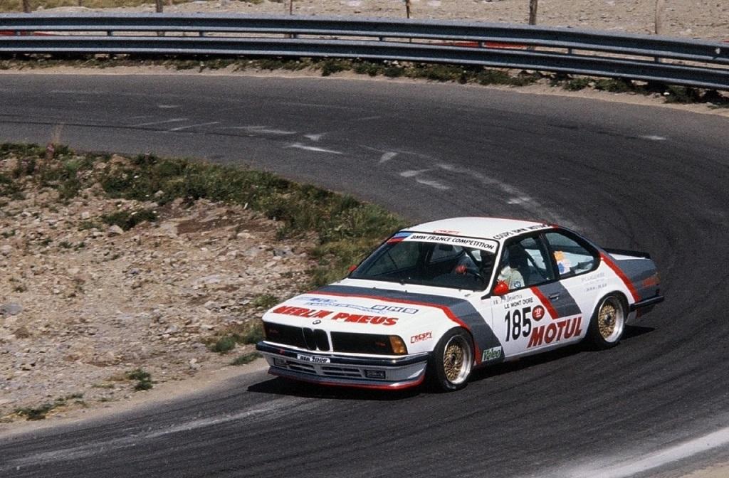 Francis-Dosières- BMW-635-CSI - 1985 - Course-de-côte-du-Mont-Dore - Photo-Thierry-Le-Bras