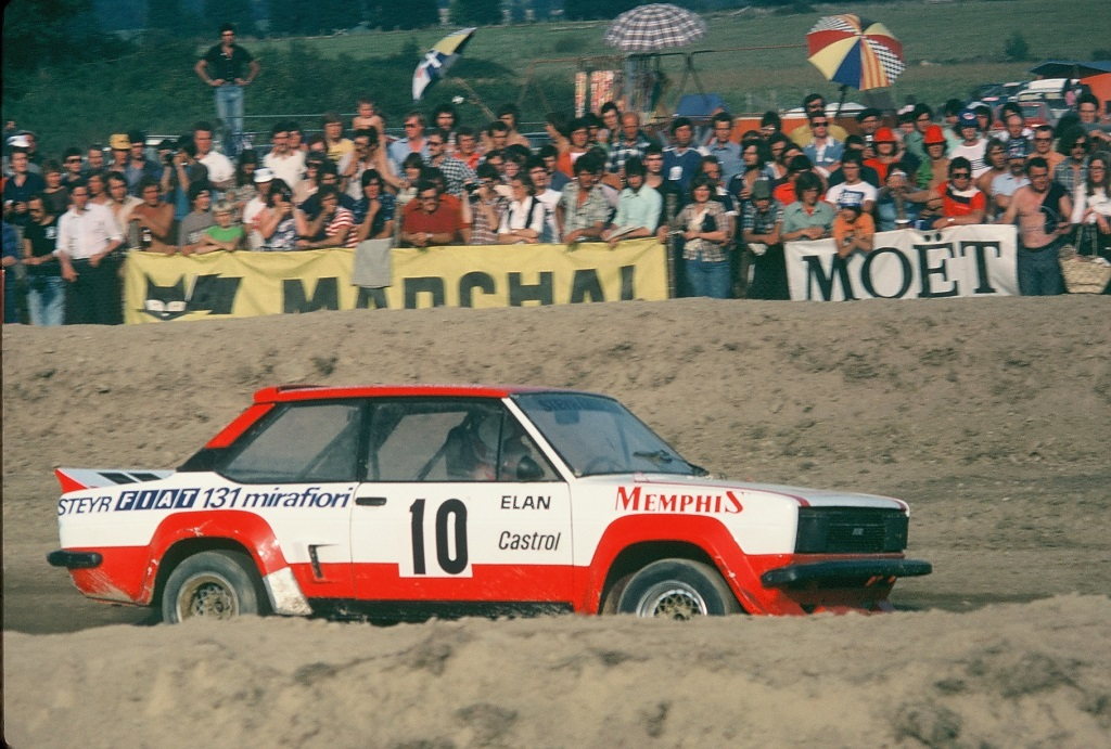 Franz-Wurz - Fiat-131-Abarth - 1 - 1978 - Lohéac - photo-Thierry-Le-Bras