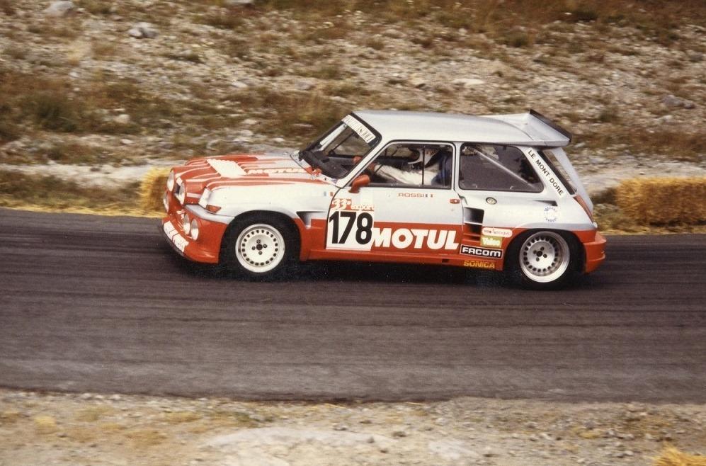 Giovanni-Rossi - Renault-5-Maxi-Turbo - 1987 - Course-de-côte-du-Mont-Dore- Photo-TLB