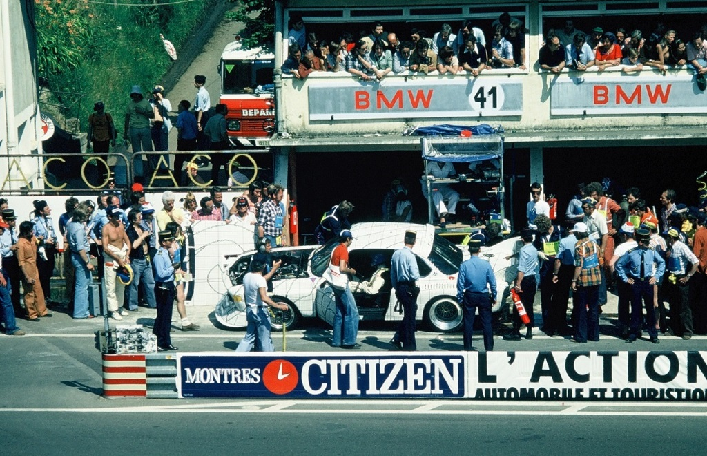 Gregg - Redman -BMW -30-CSL-Turbo - 1976- Le-Mans- Photo- Thierry-Le-Bras
