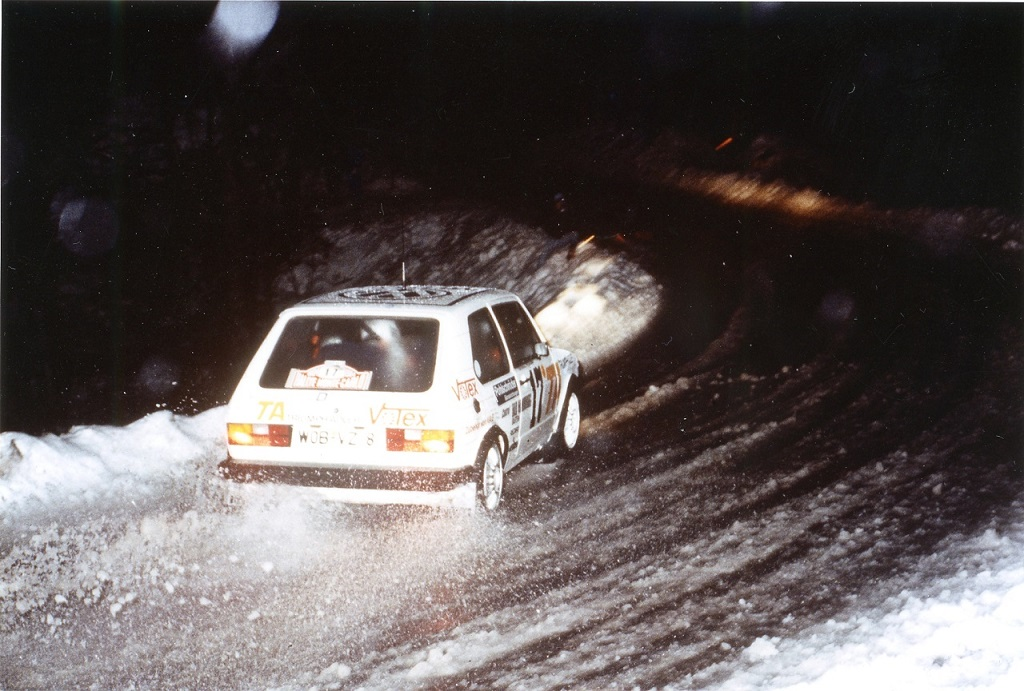 Grundle-Dieckmann - VW-Golf-GTI -Rallye-Monte-Carlo- Photo-Thierry-Le-Bras