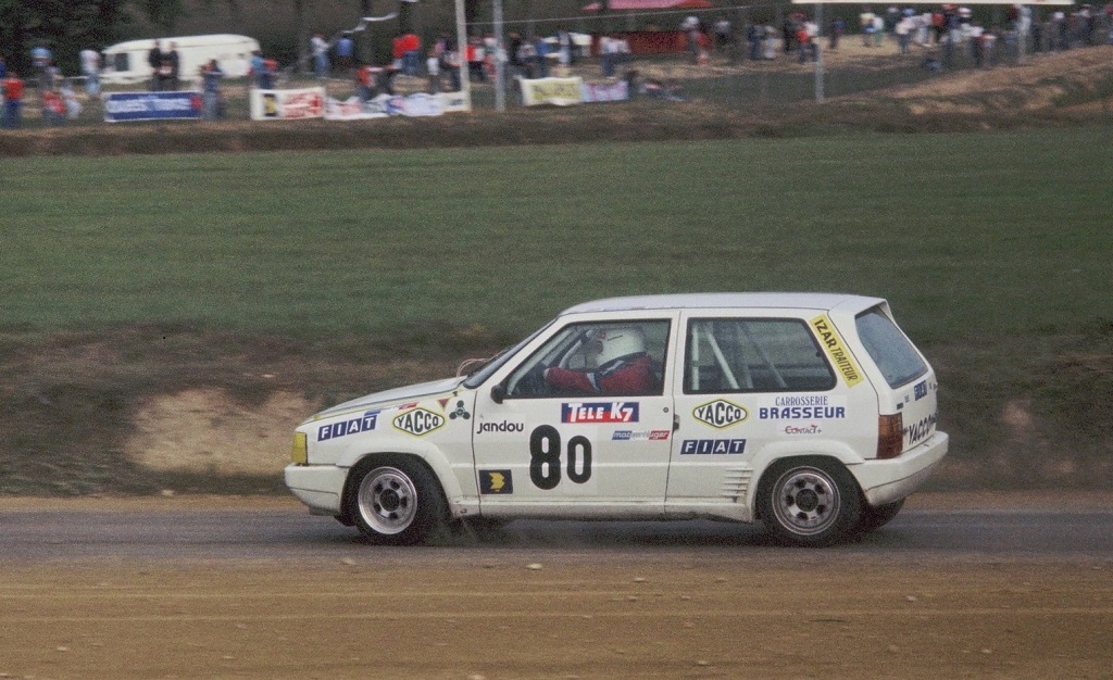 Gustave-Tarrière - Fiat-Uno-Turbo-ie - 1987 - Rallycross-Lohéac - Photo-Thierry-Le-Bras