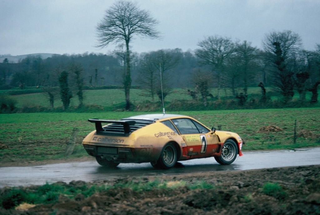 Guy-Fréquelin- Alpine-A310-V6-G5 - 1977 - Ronde-d-Armor -Photo-Thierry-Le-Bras