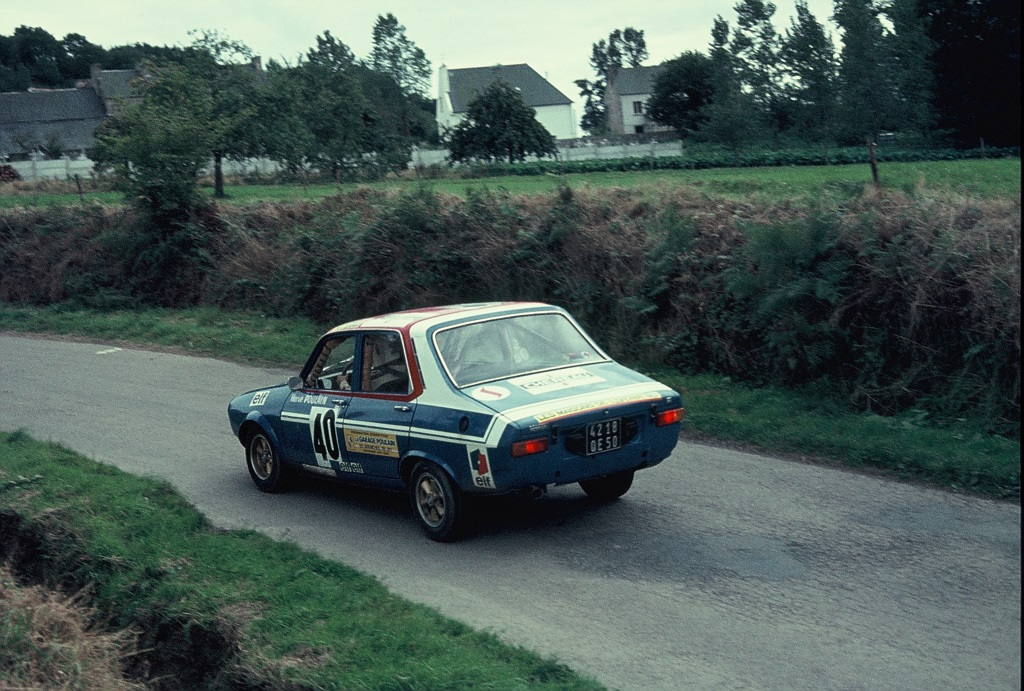 Hervé-Poulain - Renault-R12-Gordini - 1974 - Rallye-d-Armor - Photo-Thierry-Le-Bras