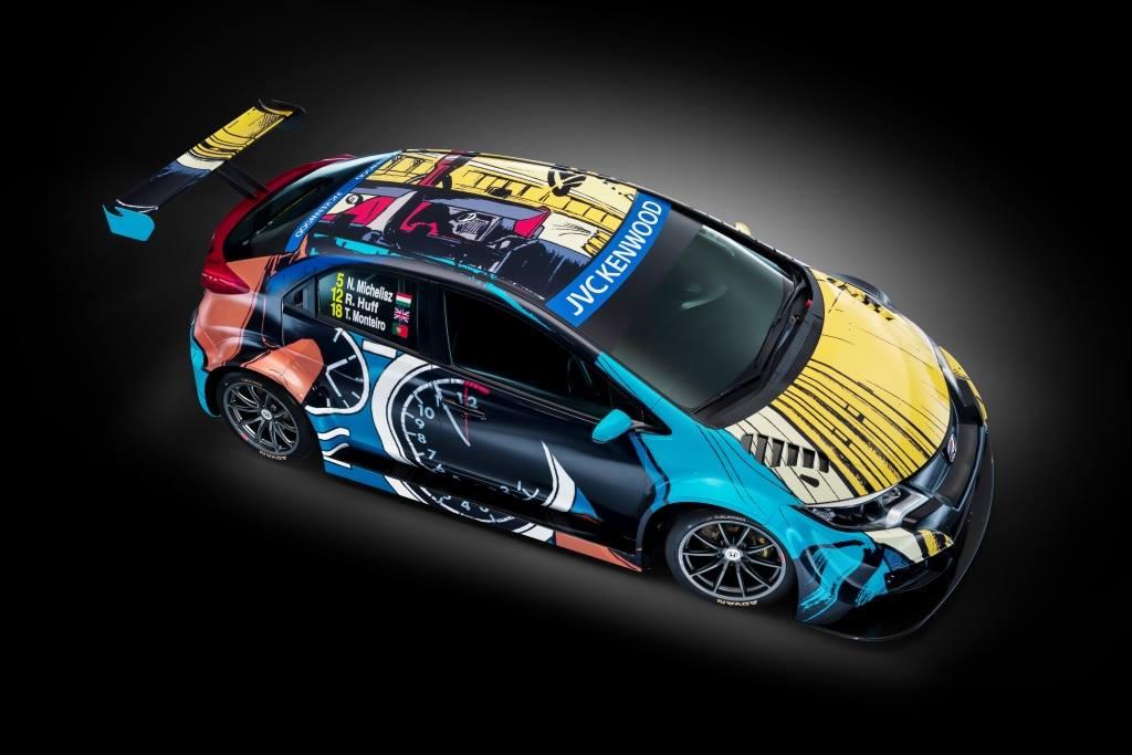 Honda-Art-Car - Michel-Vailant- 2016