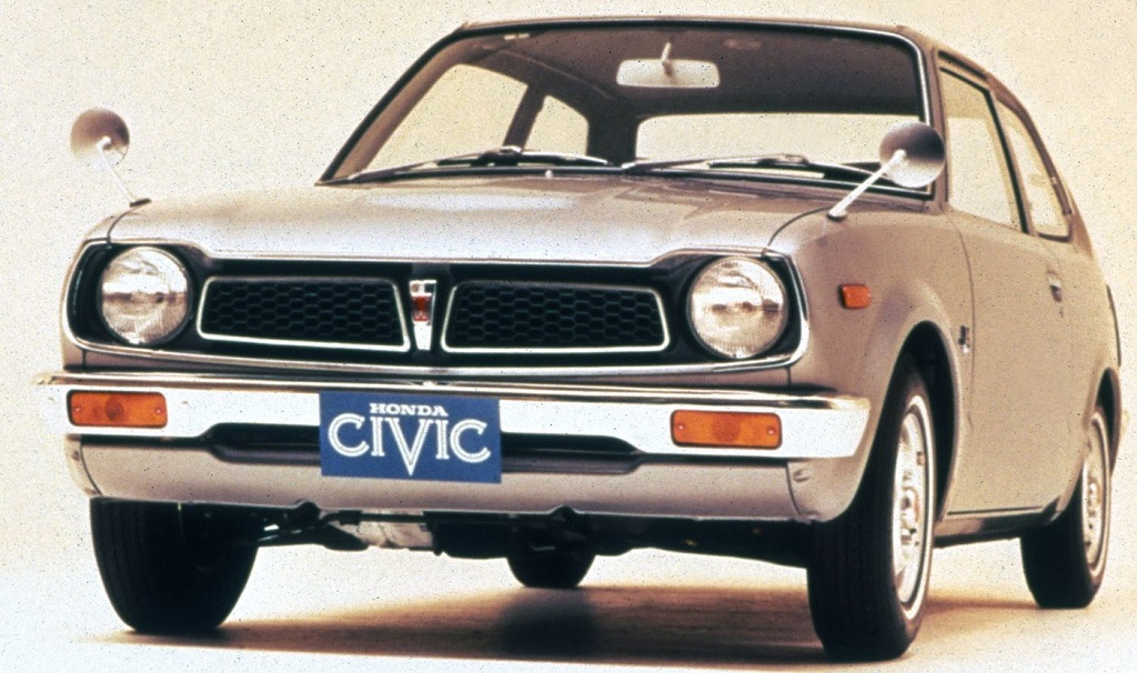 Honda-Civic - 1973