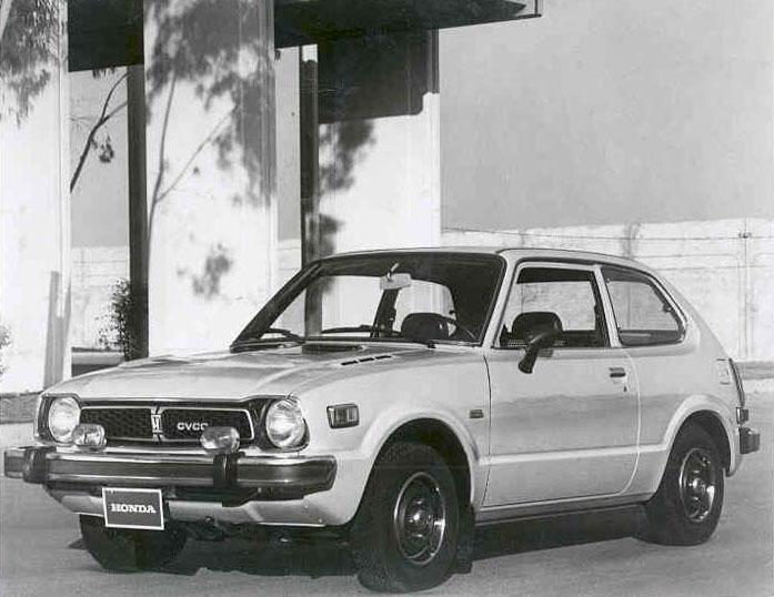 Honda-Civic - Première-génération