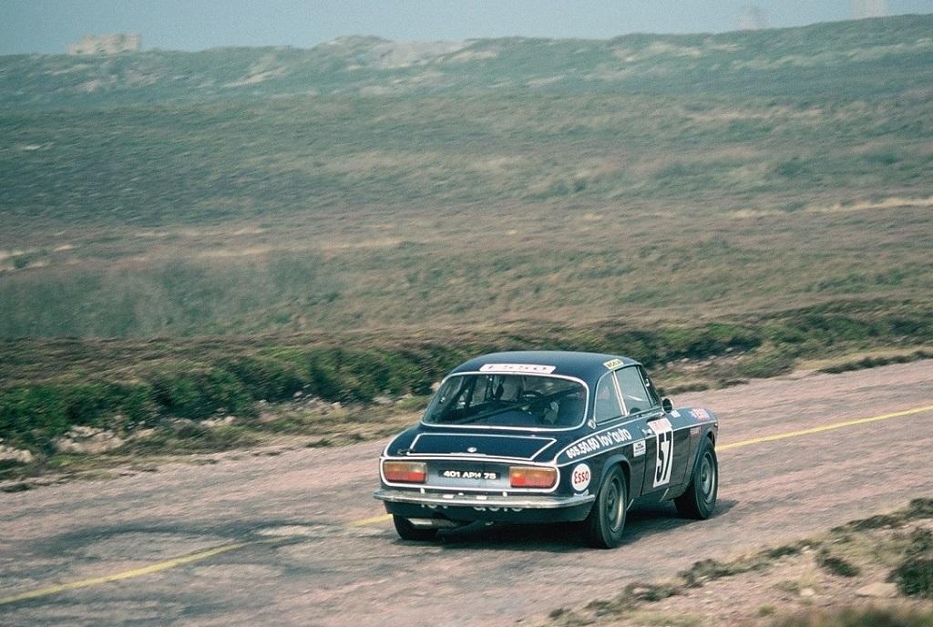 Imbert - Alfa-Romeo-2000-GTV- 1976 -Rallye-Armor-ES-Cap-Fréhel - Photo-TLB