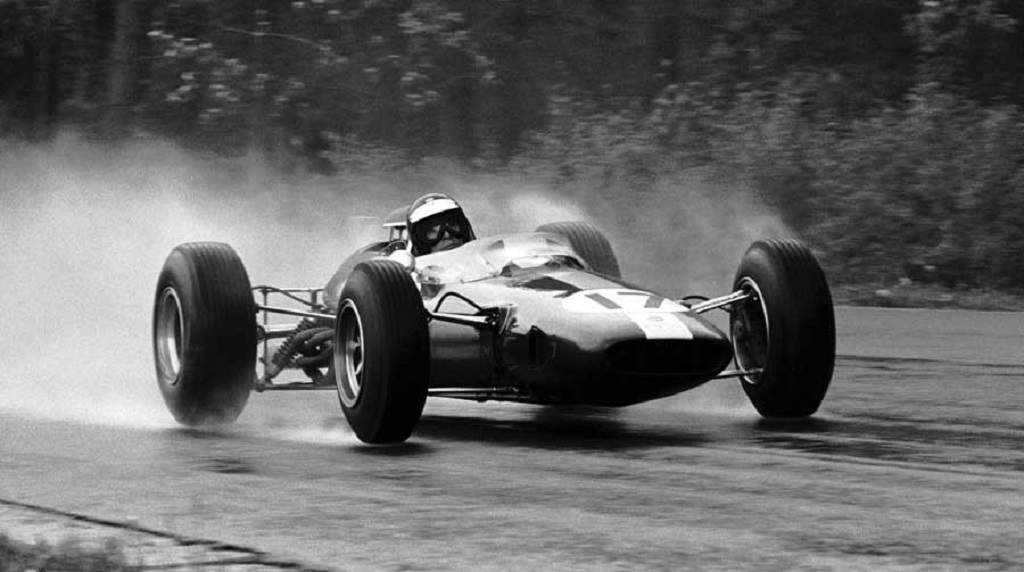 Jim-Clark - Lotus - 1965 - GP-de-Spa