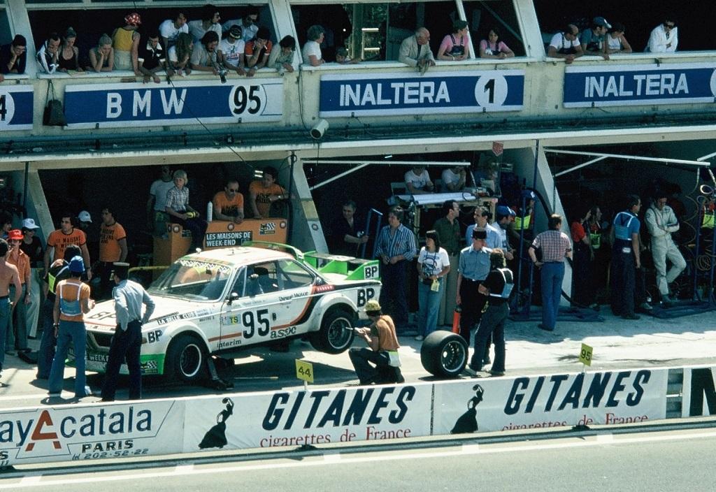 JL-Ravenel-J-Ravenel-JM-Detrin - BMW-30-CSL - 1976 - Le-Mans - Photo-TLB