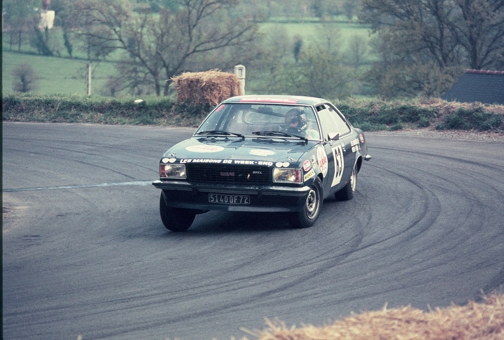 Jacky-Ravenel - Opel-Commodore-GSE - 1974 - CC-Saint-Germain-sur-Ille - Photo-Thierry-Le-Bras
