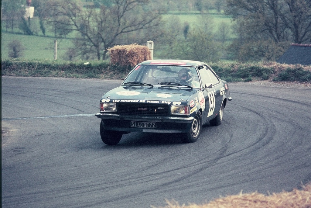 Jacky-Ravenel - Opel-Commodore-GSE - 1974 - CC Saint-Germain-sur-Ille - Photo-Thierry-Le-Bras