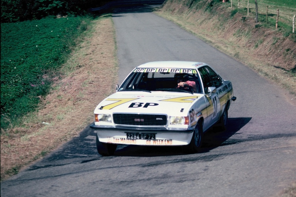 Jacky-Ravenel - Opel-Commodore-GSE - 1977 - CC-Pluméliau - Photo-Thierry-Le-Bras