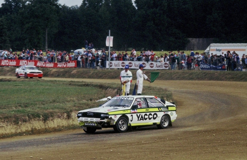 Jacques-Aïta- Audi-Quattro- 1987 - Rallycross-Lohéac - photo-Thierry-Le-Bras