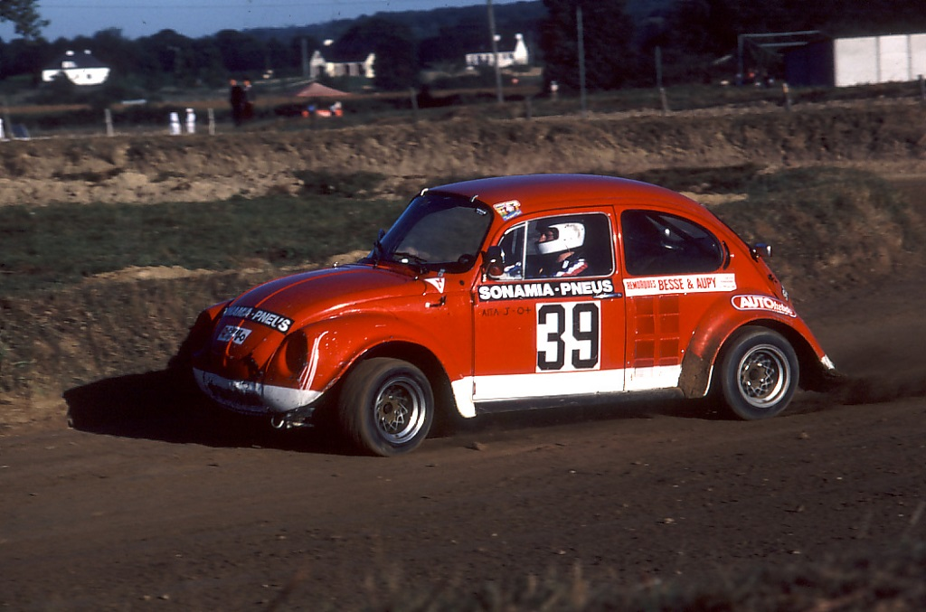 Jacques-Aïta - VW-Coccinelle - 1980 - Rallycross-Lohéac - Photo - Thierry-Le-Bras