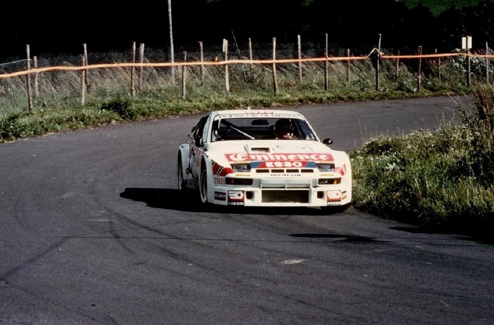 Jacques-Almeras - Porsche-924-GTR-groupe-4- 1981 - CC-Mont-Dore- Photo-Thierry-Le-Bras