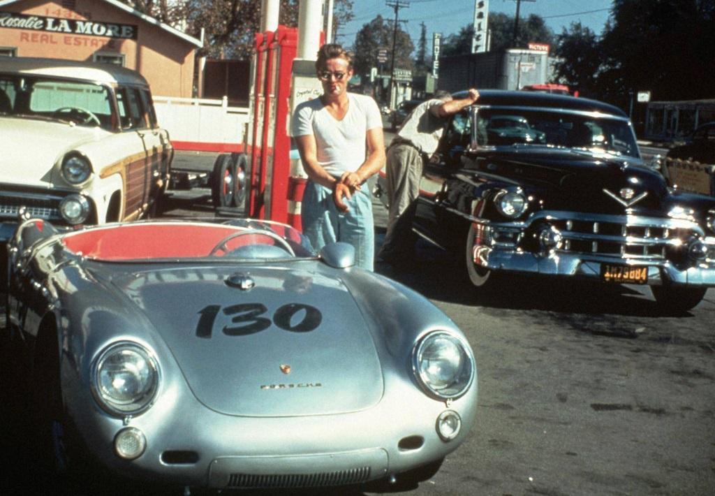 James-Dean- Porsche-550-RS- 1955
