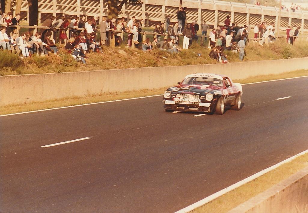 Jarier - Chevrolet-Camaro - 1984 - Montlhéry - Photo-© RacingCarMedia – Guy Pawlak