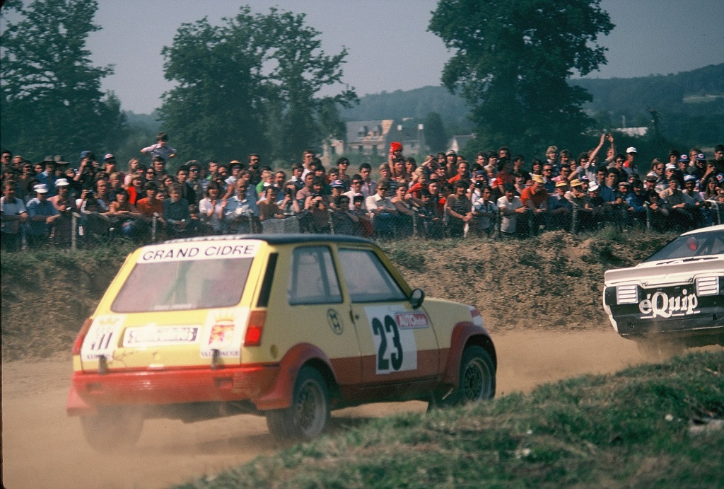 Jaussaud-R5-Alpine-Groupe-2 - 1978 - Rallycross-Lohéac - Photo-Thierry-Le-Bras