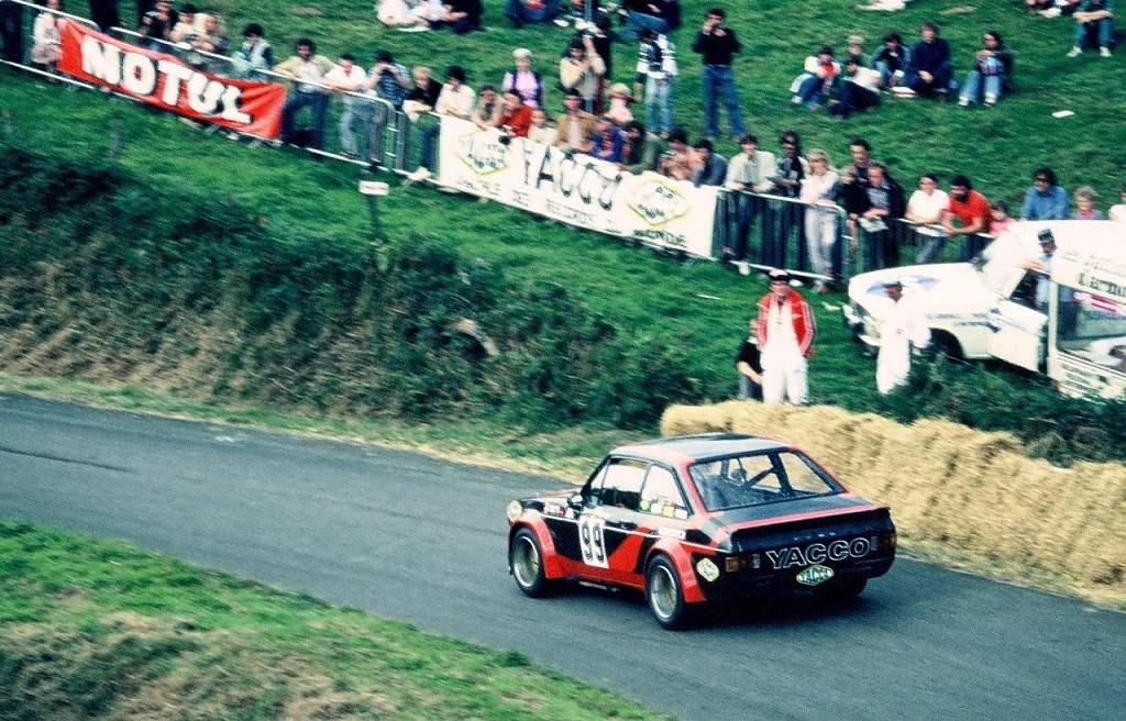 Jean-Christian-Duby - Ford-Escort-1800-RS - 1980 - Saint-Gouëno - Photo-Thierry-Le-Bras