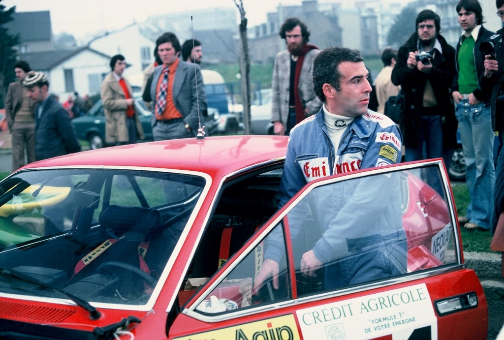Jean-Claude-Andruet - Alfa-Romeo-GTV-3-litres- 1976- Armor- photo-Thierry-Le-Bras